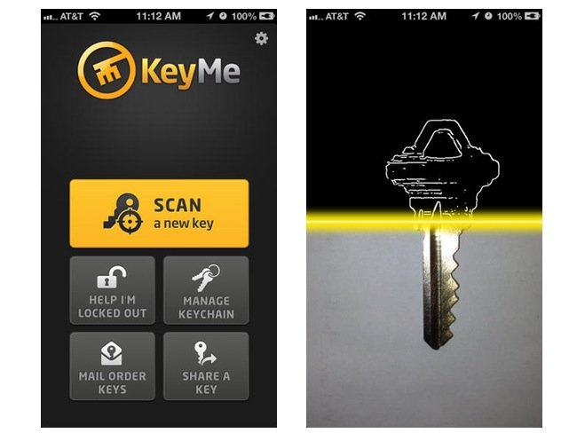 KeyMe Digital Keychain