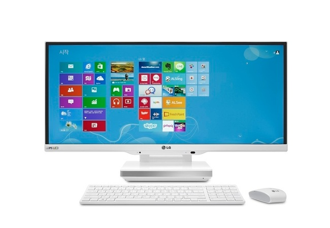 LG Cinematic IPS 21:9 UltraWide All-in-one PC Unveiled