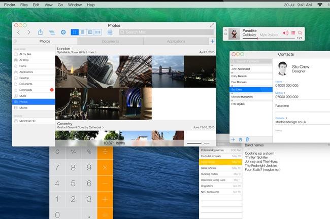 OS X Ivericks Concept