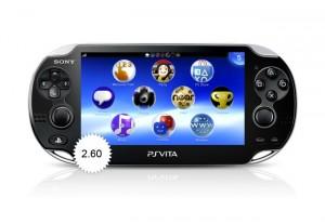 PS Vita Firmware 2.6