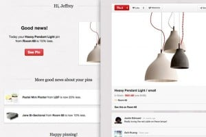 Pinterest Launches Price Reduction Email Notifications