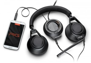 Plantronics RIG Gaming Headset Unveiled With Smartphone Mixer Features