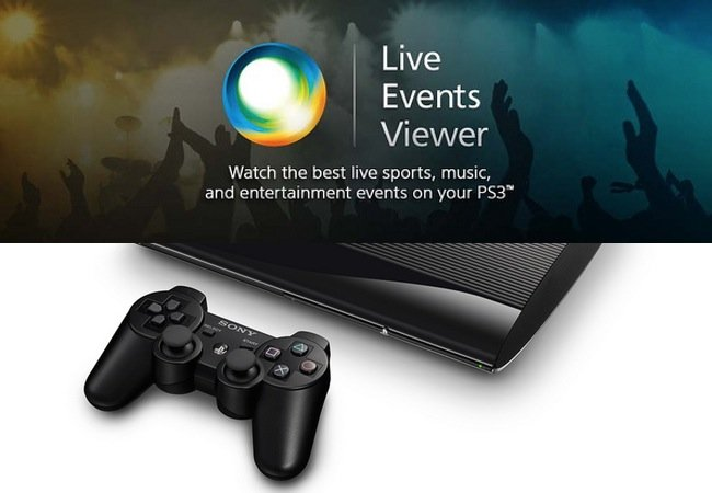 PlayStation 3 Live Events App