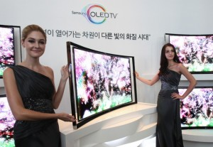 Samsung Curved OLED TV 55-inch Available Today For $9,000