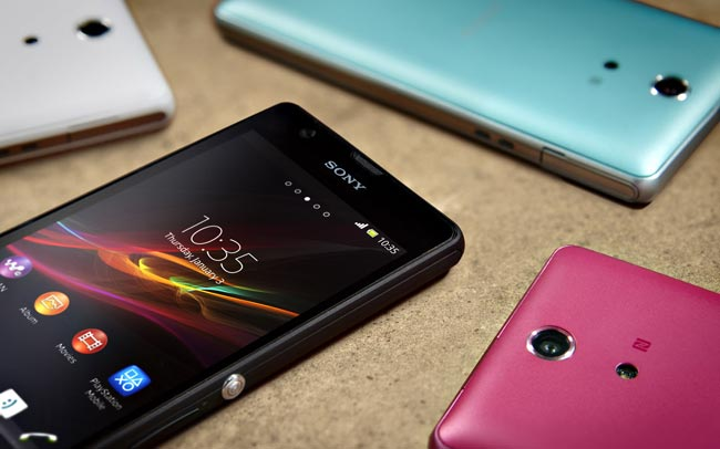 Sony Xperia ZR Android 4.2