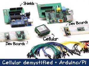 SparqEE CELLv1.0 Development Board Kit Offers Internet To Anything Anywhere (video)