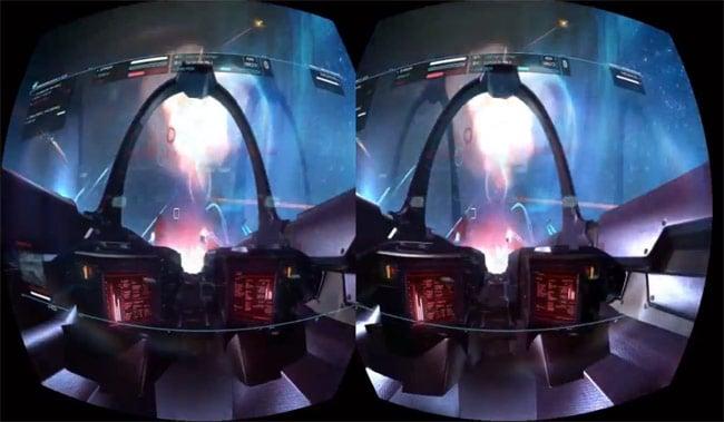 Strike Suit Zero Oculus Rift