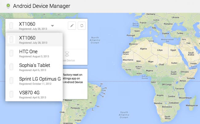Android Device Manager Now Live