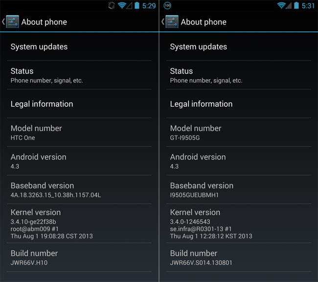 Android 4.3 GPE