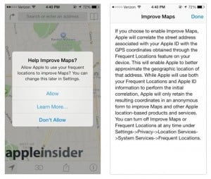 Apple iOS 7 Will Ask Users To Help Improve Apple Maps