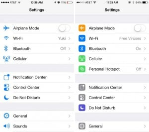 Apple iOS 7 Beta 5 Gets New Icon Settings And More