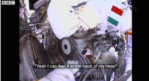 Spacesuit Water Leak Leads to Terrifying Moments for Italian Astronaut