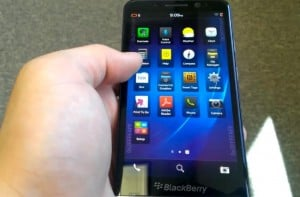 BlackBerry Z30 Appears In Another Video