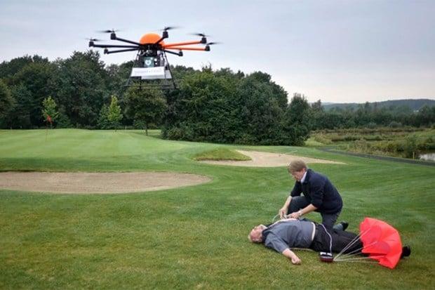 defib drones