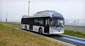 Electric Buses in Korea Wirelessly Charge As They Drive