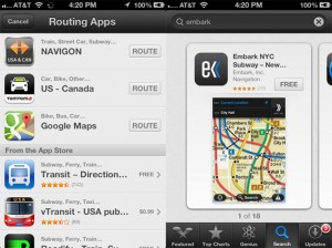 Apple Buys Embark Mapping App