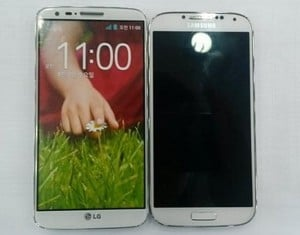 LG G2 Compared With Galaxy S4