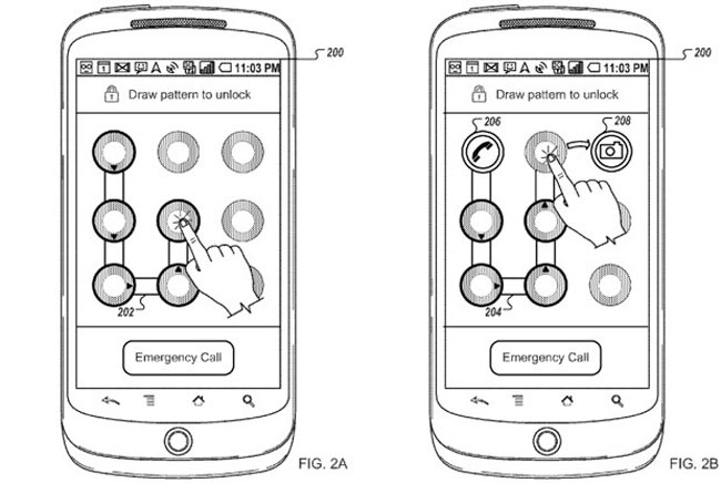 New Android Unlock Patent