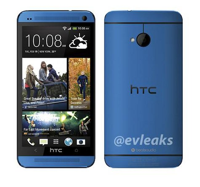 Blue HTC One Coming To Sprint on September 10