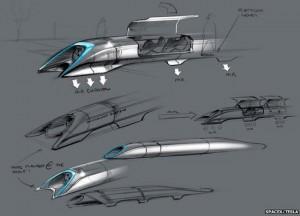 Elon Musk Offers Details on Hyperloop between San Francisco and LA