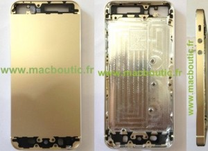 iPhone 5S Gold Edition Photos Leaked (Rumour)