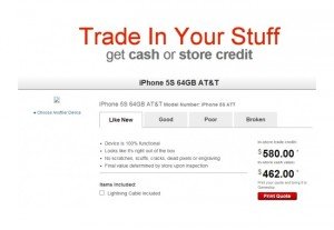 Apple iPhone 5S Appears On Gamestop Trade-In Website