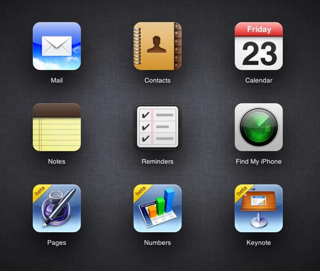 iWork iCloud Beta