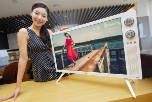 LG launches retro TV with rotary dials