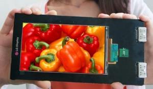 LG Quad HD Smartphone Display Announced