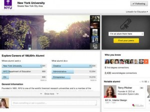 LinkedIn Launches New University Pages Aiming for Students