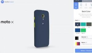 Motorola Moto X Motomaker Gets Demoed (Video)