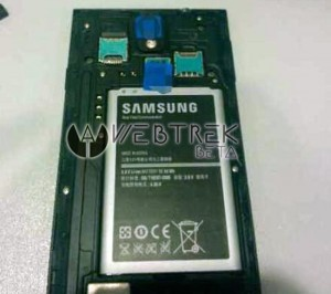 Samsung Galaxy Note 3 spotted from the back?