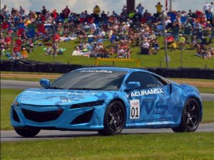 Acura Shows off NSX Prototype at Mid-Ohio Sports Car Course