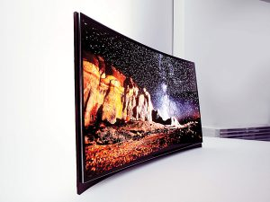 Samsung Drops Curved OLED TV Price