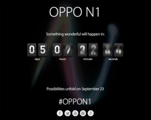 Oppo N1 To Be Unveiled September 1st