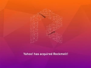 Rockmelt Acquired by Yahoo, Closes Down on 31 August