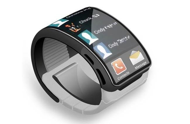 will the samsung galaxy gear smart watch look like this