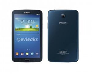 Blue Samsung Galaxy Tab 3 7.0 Leaked