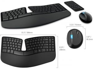 Microsoft Unveils New Generation Sculpt Ergonomic Keyboard and Mouse