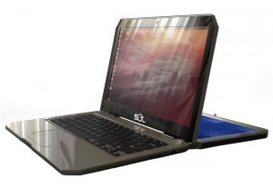 Sol Solar Powered Laptop Running Ubuntu Unveiled