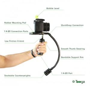Tooga Camera Stabilizer Hits Indiegogo