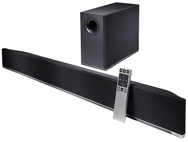Vizio Launches Three New Home Theater Sound Bars for Small and Medium-Size TVs