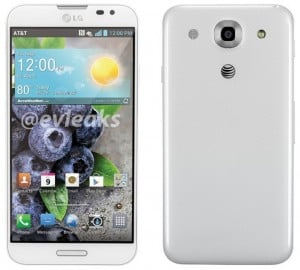 LG Optimus G Pro in white for AT&T