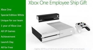 Microsoft Employees May Get A White Xbox One