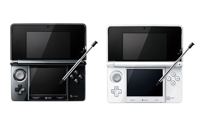 3DS Black White