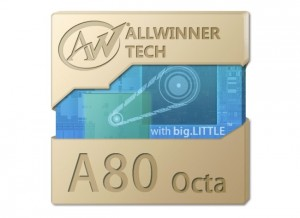 Allwinner A80 Octa Processor Unveiled