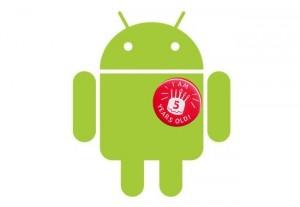 Android Celebrates Its 5th Birthday