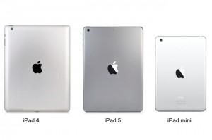 New Apple iPad 5 Tablet Compared To New iPad Mini 2 (video)