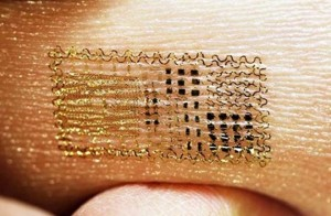 Electronic Temperature Tattoos?