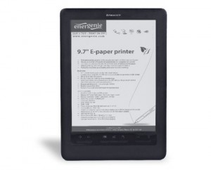 EnerGenie ePP2 ePaper Printer And eReader Announced (video)